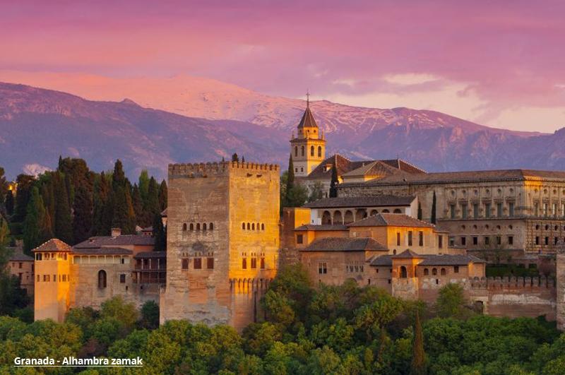 Andaluzija Granada paket aranžmani avio putovanje proleće