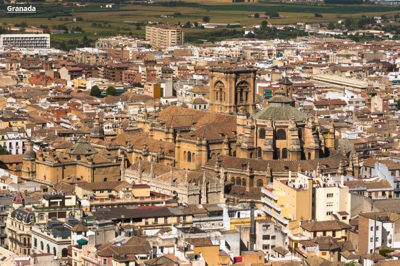 Andaluzija avio putovanje evropske metropole Granada paket aranžmani