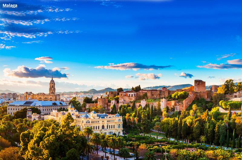 Andaluzija avio putovanje evropske metropole Malaga paket aranžmani