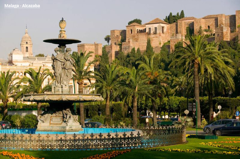 Andaluzisjka tura Malaga paket aranžmani čarter let evropske metropole
