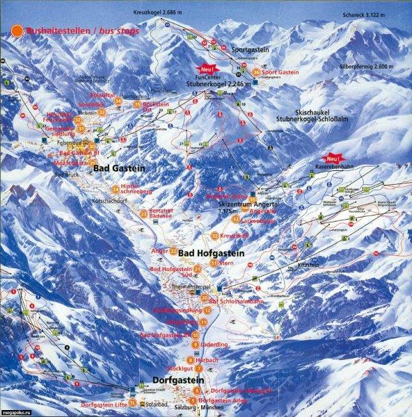 bad gastein - hofgasten skijaliste zimovanje u austriji bad gastein - hofgasten