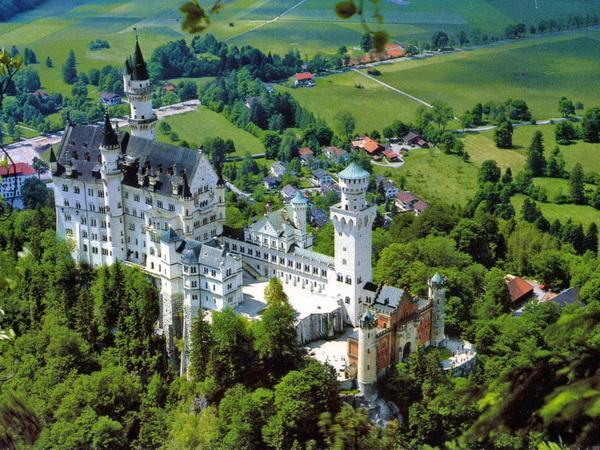 dvorci bavarske jesenja putovanja last minute oktobar novembar