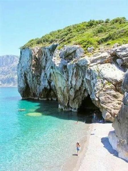 Plaža Grčka ostrvo Evia letovanje 2017 ponuda smeštaj autobusom