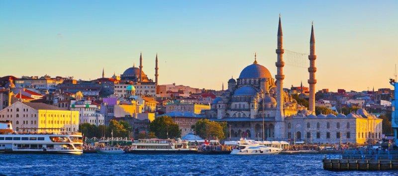 Istanbul docek nove godine u Istanbulu