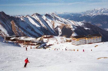 kaprun zima skijanje zimovanje austrija cene kaprun