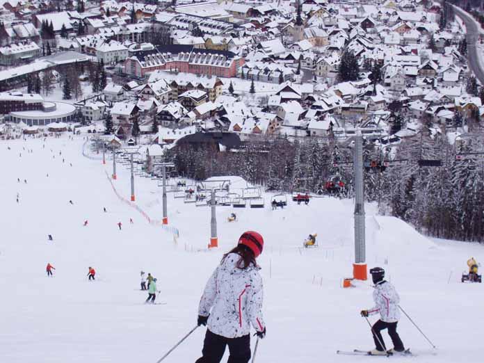 kranjska gora zima skijanje zimovanje slovenija cene kranjska gora