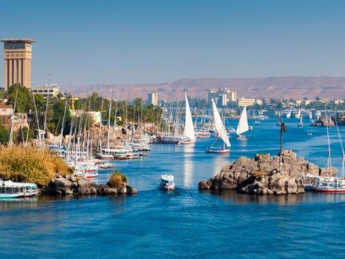 Krstarenje Nilom Egipat oktobar reka
