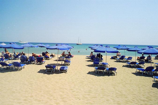 Plaža Faliraki Rodos Grčka letovanje leto cene