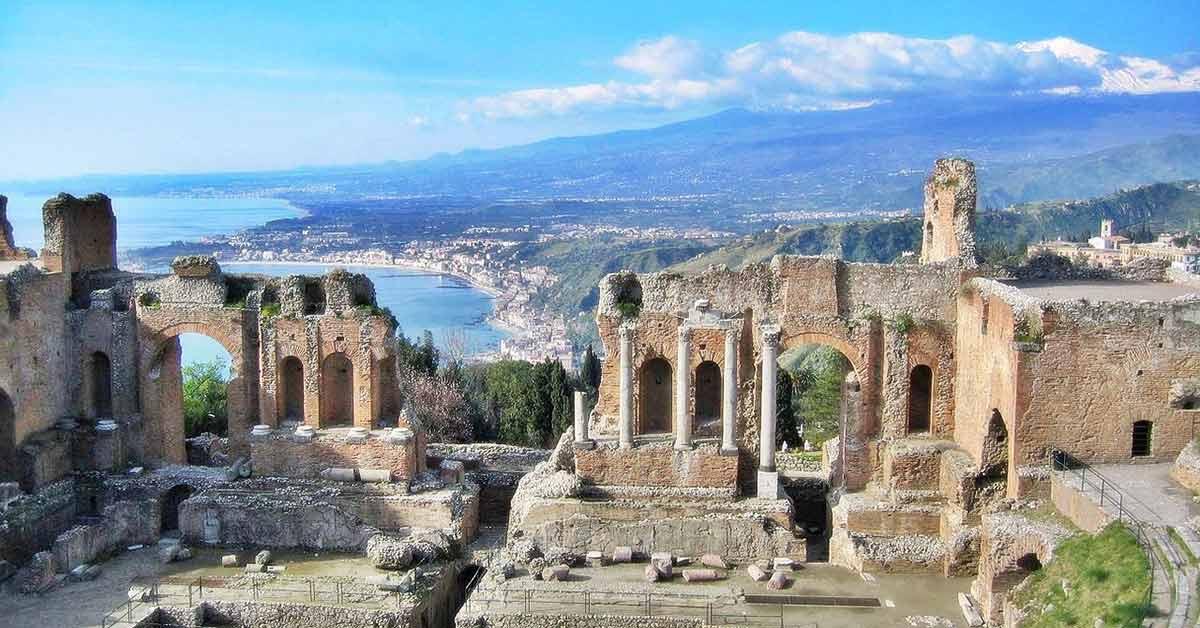 SICILIJA NOVA GODINA 2019 AVIONOM