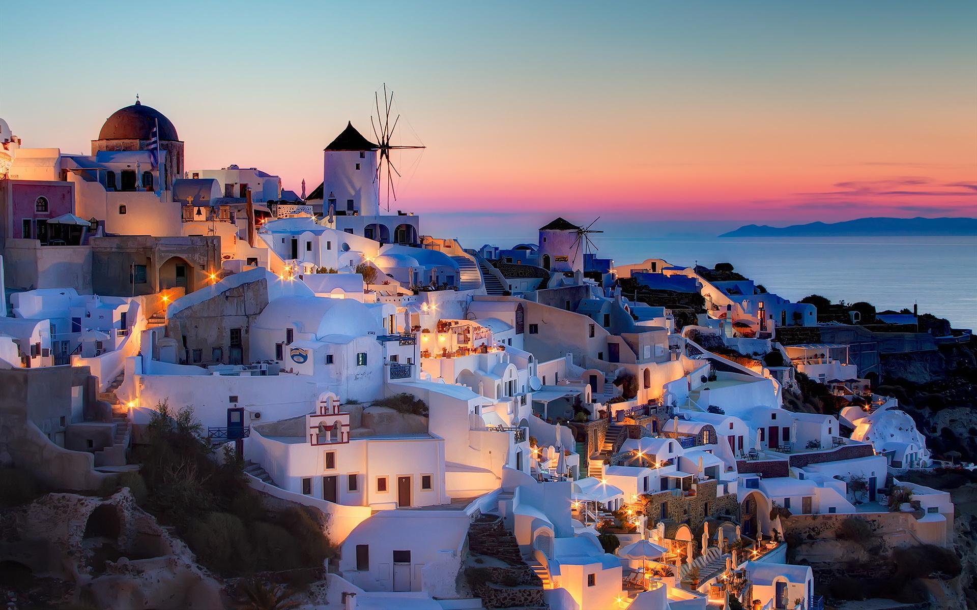 Grčka Santorini letovanje hoteli i apartmani Kamari, Fira luksuzno putovanje