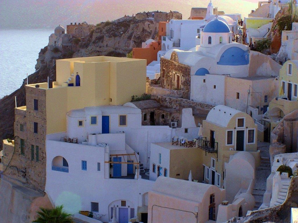 Santorini letovanje Grčka hoteli letovanje apartmani leto Santorini