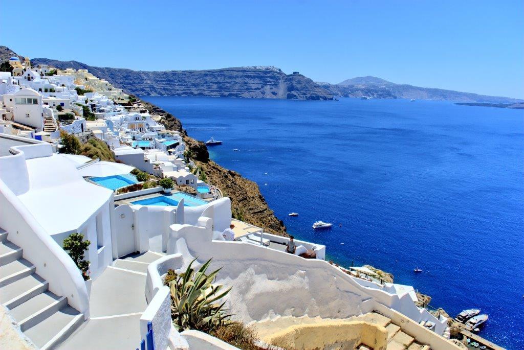 Santorini Grčka aranžmani letovanje eksluzivni hoteli cene Last minute
