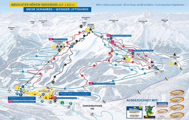 schladming zima skijanje zimovanje austrija cene schladming