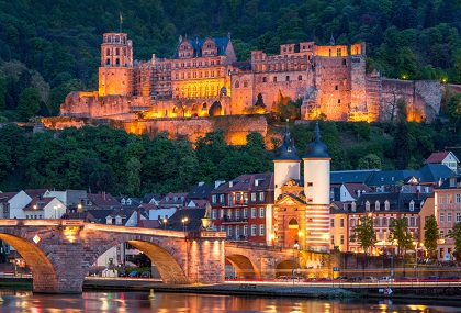 alzas i svarcvald putovanje jesen Heidelberg