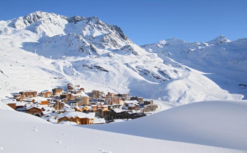 val thorens skijaliste zimovanje u francuskoj val thorens