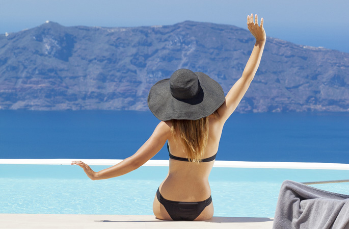 Grčka ekskluzivni hoteli letovanje apartmani leto Santorini