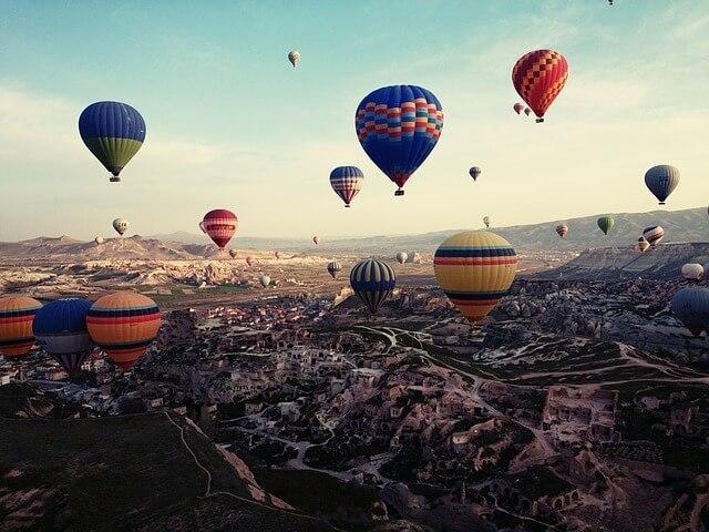kapadokija turska putovanje avionom dream land aranzmani