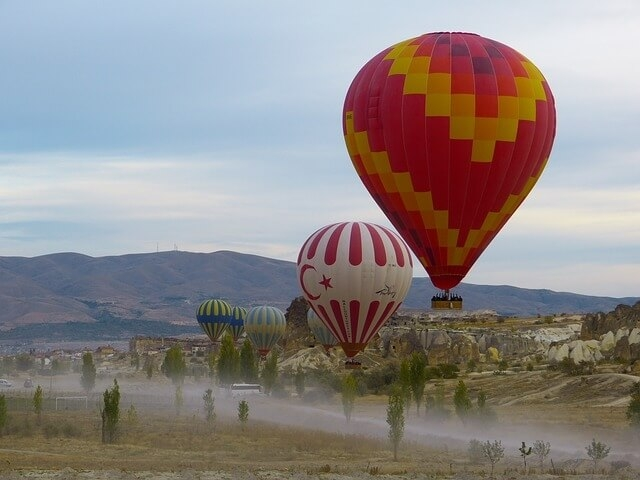 kapadokija turska putovanje dream land avionom