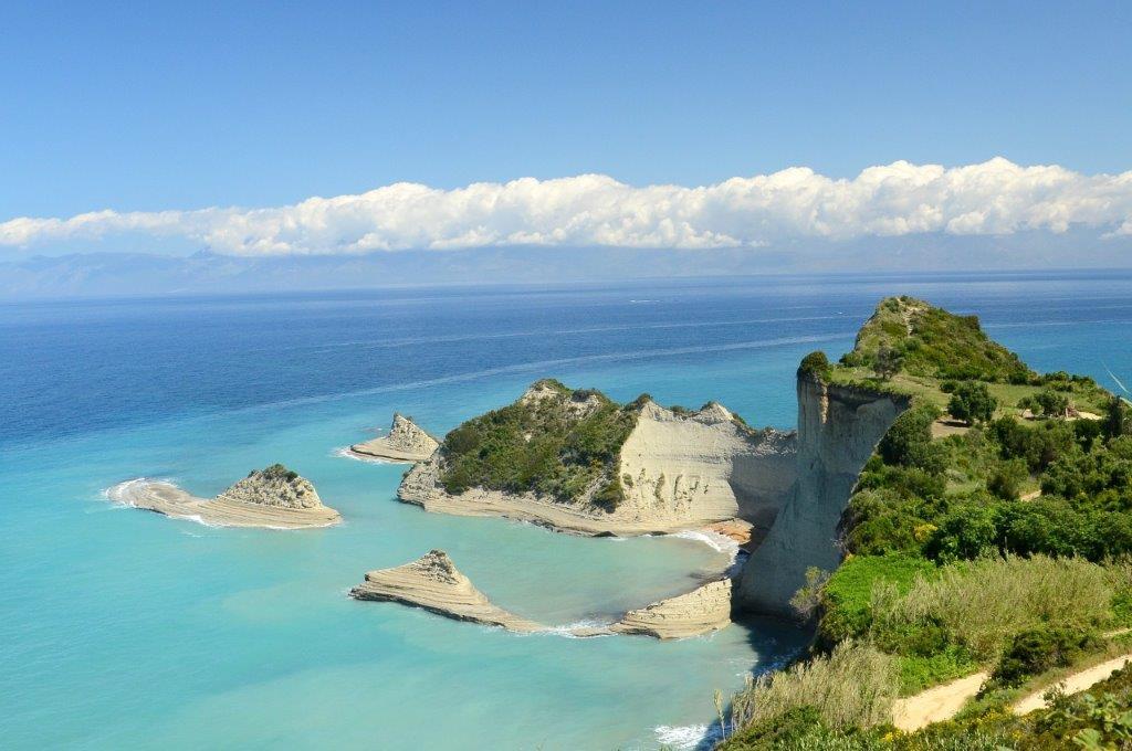 Plaža na Krfu hoteli leto letovanje Grčka cene Last minute