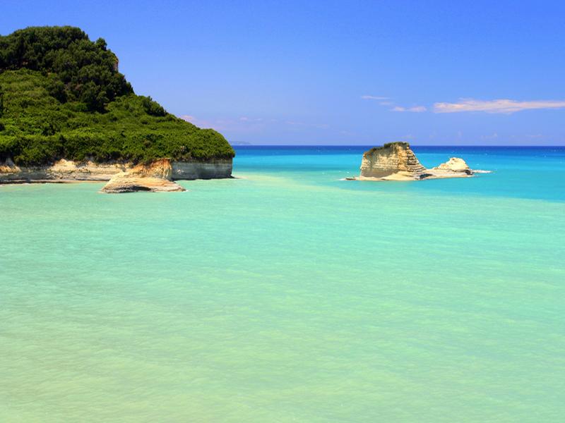 Krf avio letovanje Grčka plaže aranžmani cene apartmani