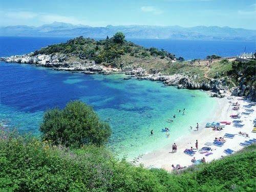 Grčka Krf leto avionom hoteli apartmani aranžmani Krf letovanje