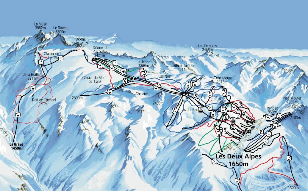 les 2 alpes zimski aranzmani skijanje aranzmani