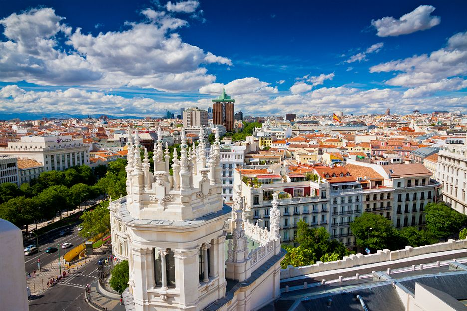 MADRID NOVA GODINA 2020 AVIONOM