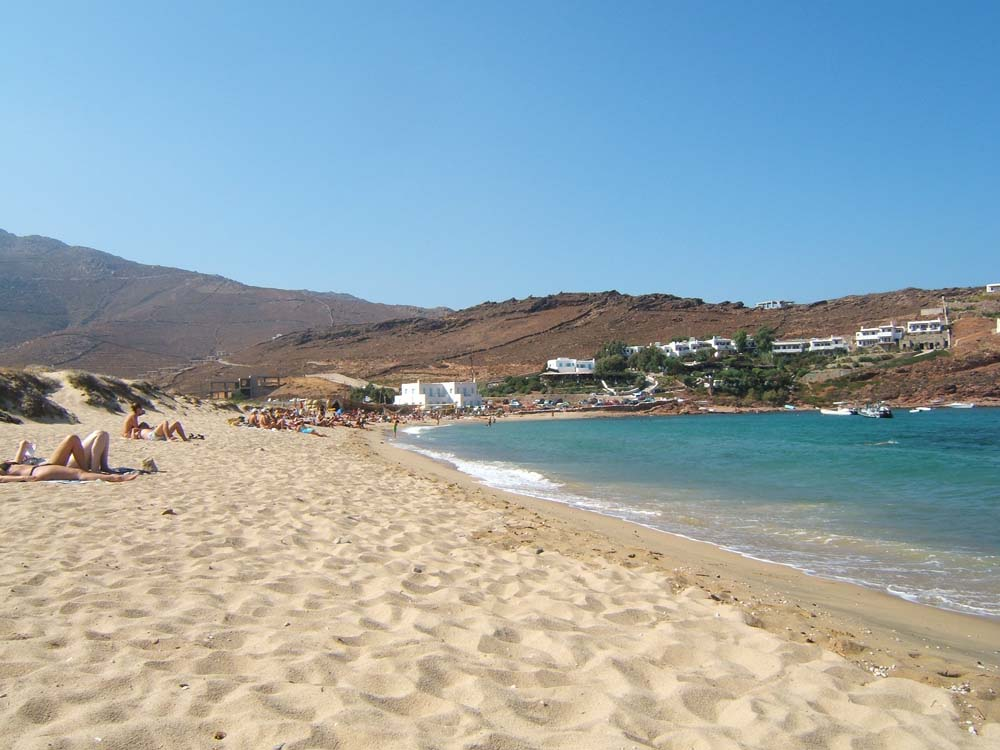 Mikonos Letovanje Grčka plaže hoteli aranžmani