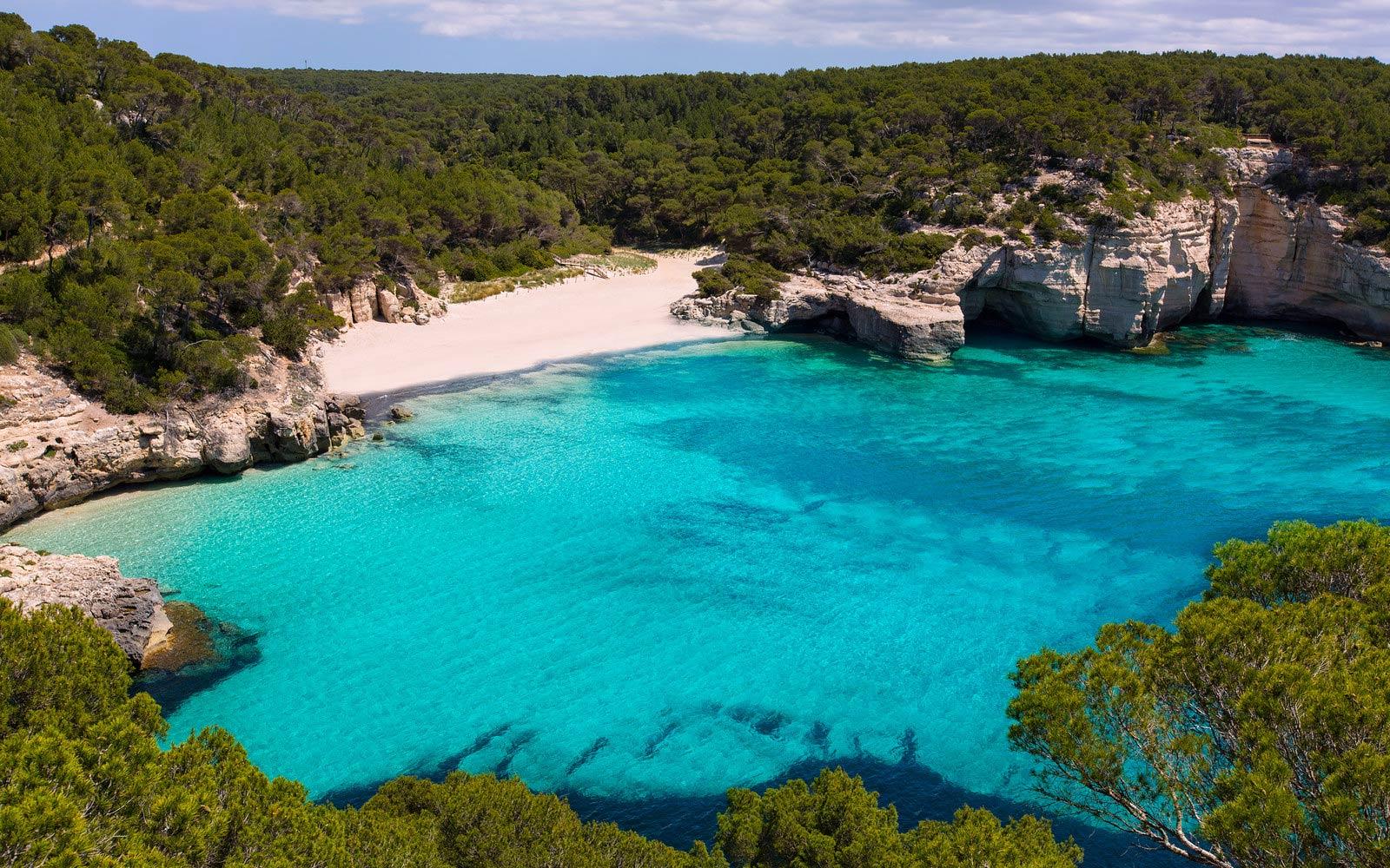 Plaže na Menorci Najbolje plaže u Španiji