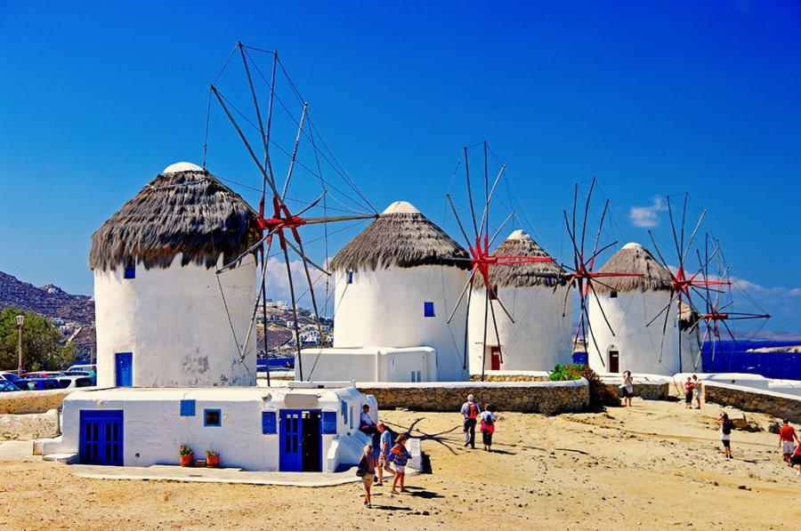 Mikonos Grčka letovanje aranžmani avionom Mikonos leto