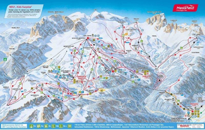 nasfeld zimski aranzmani skijanje aranzmani