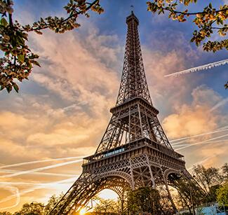 pariz Nova godina aranzmani avionom