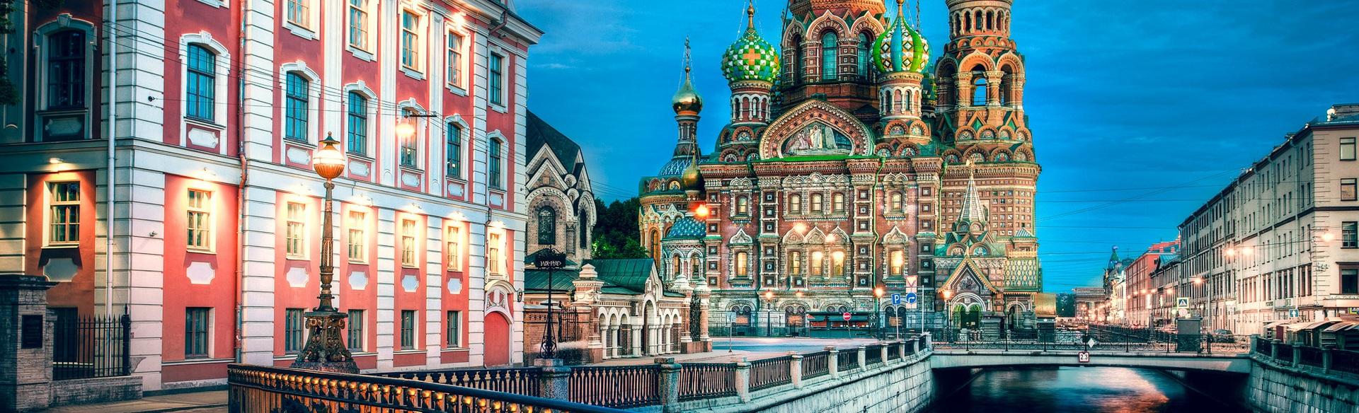 MOSKVA - ST. PETERBURG