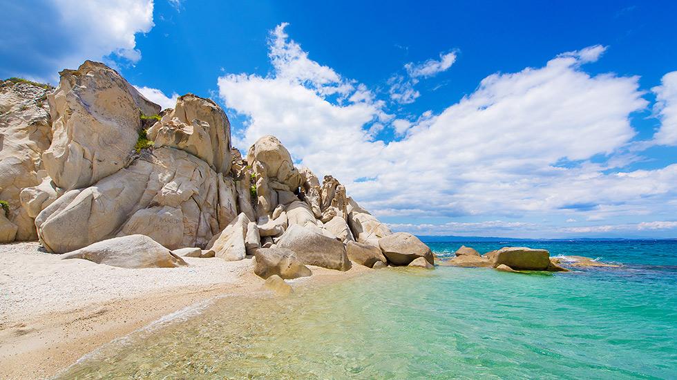 Halkidiki plaža hoteli apartmani leto cene aranžmana na Halkdikiju