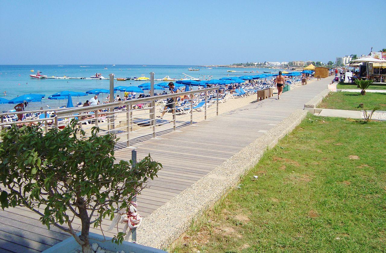 Kipar plaže letovanje mesta hoteli aranžmani Protaras