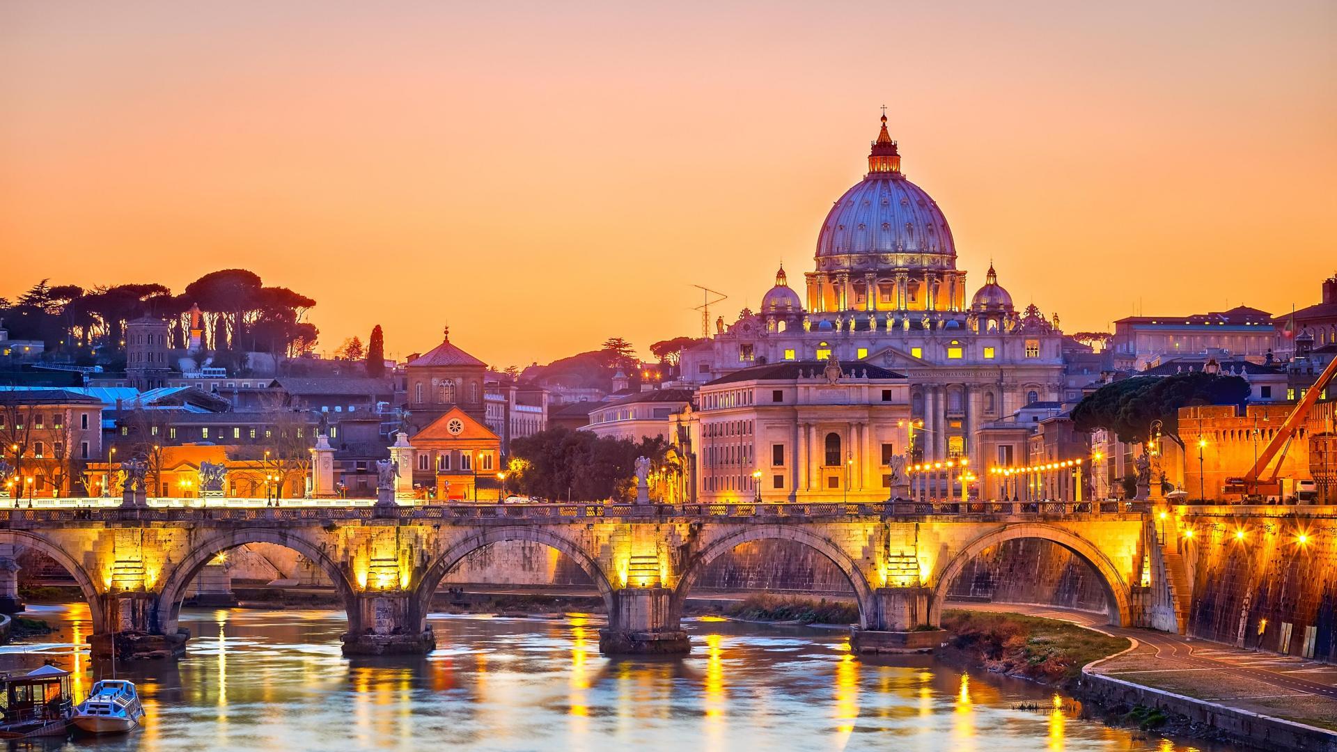 Rim putovanje avionom za Uskrs i Prvi maj aranžmani