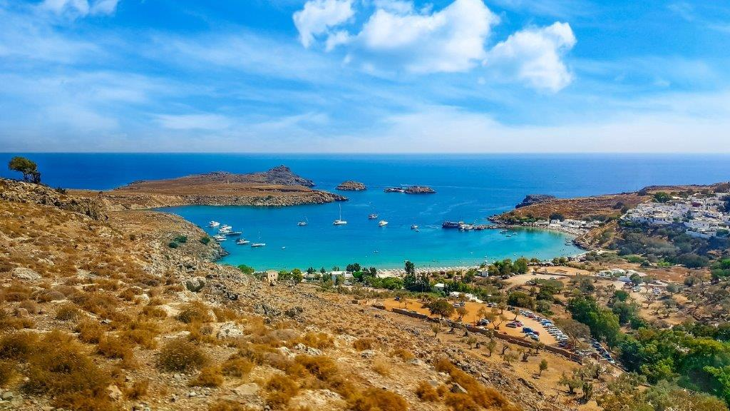 Rodos letovanje plaža - Grčka