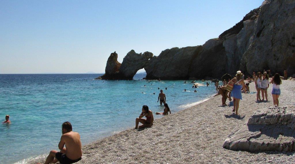 GRČKA SKIJATOS LETO LETOVANJE HOTELI AVIONOM