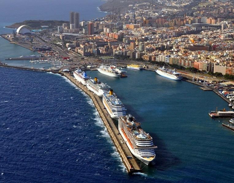 Tenerife Las Palmas krstarenje