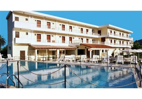 HOTEL PRASSINO NISSI GRČKA HOTELI KRF LETO CENA