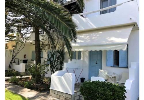 Apartman Margaritas house grad skijatos letovanje grčka ostrva terasa
