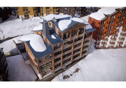 Apartmani Beau Soleile zima Alpi Val Thorens skijanje Francuska zimovanje