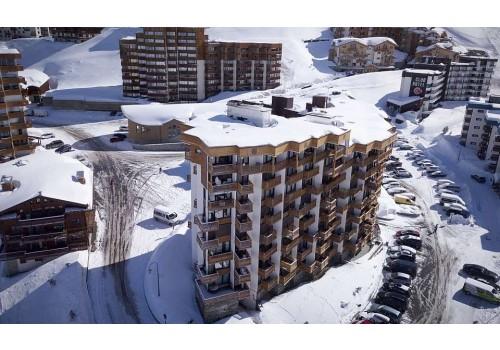 Apartmani Hauts de Chaviere Val Thorens zimovanje skijanje Francuska Alpi zima odmaralište