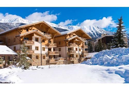 Apartmani Le Hameau du Rocher Blanc zima Serre Chevalier zimovanje Francuska Skijanje Smeštaj