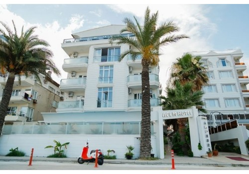 Hotel Acem spolja izgled Sarimsakli leto turska cena