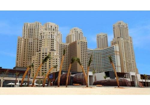 Hotel Amwaj Rotana Jumeirah Beach Dubai plaža more ujedinjeni arapski emirati letovanje spolja