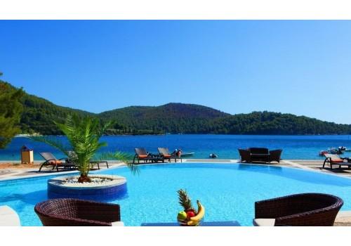 Grčka Skopelos avion HOTEL BLUE GREEN BAY