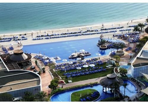 Hotel Dukes The Palm Dubai plaža more ujedinjeni arapski emirati letovanje