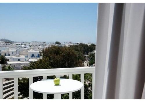 Hotel Elena 3* Mikonos balkon