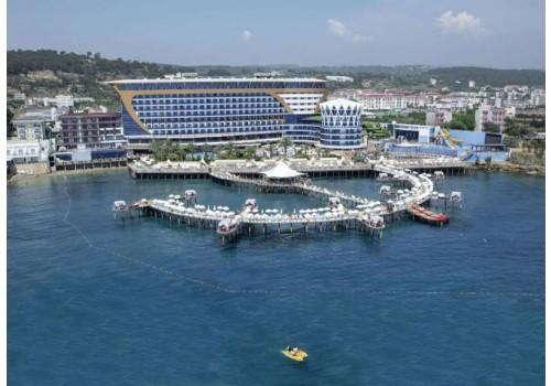 Hotel Granada Luxury Okurcalar Alanja Turska Leto deca porodično letovanje more paket aranžman